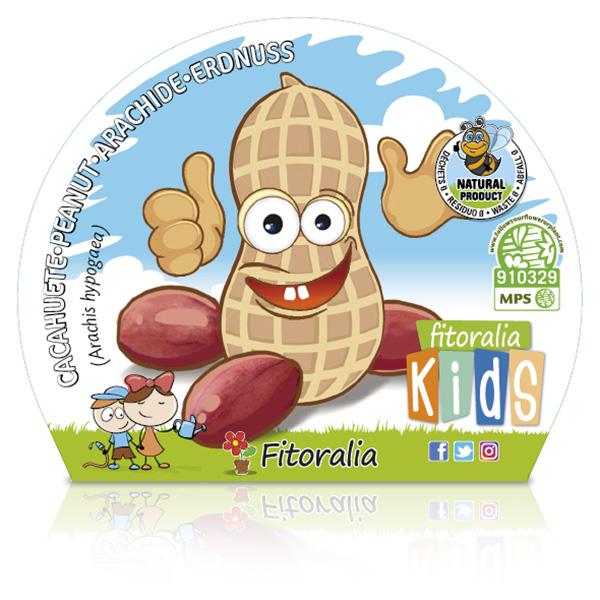 Cacahuete KIDS M-10,5 Arachis hypogaea W
