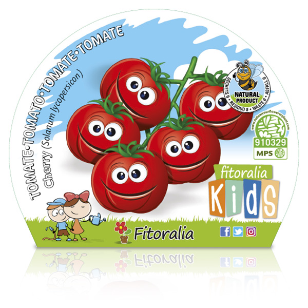Tomate Cherry KIDS M-10,5 Solanum lycopersicum W