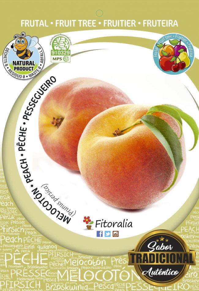 Melocotón Sprincrest M-25 - Prunus persica