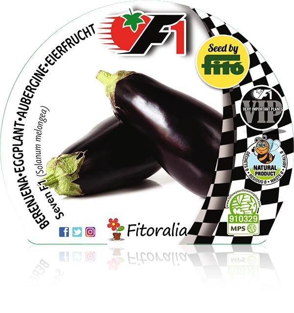 Berenjena Seven F1 6 Ud. Solanum melongea